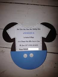 baby mickey mouse baby shower baby mickey shower invitations minnie partyexpressinvitations
