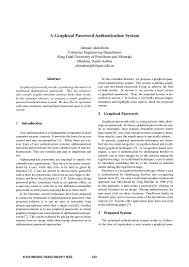 how to write an ieee paper a graphical password authentication system ieee 2011 1