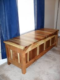 Wooden Storage Bench Seat Plans by Pallet Storage Bench Window Seat Revival Woodworks