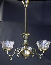 Gas Chandelier Genuine Antique Lighting Gas Chandeliers