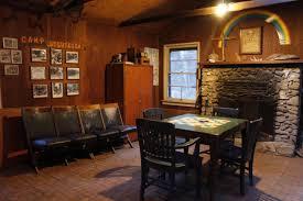 sturtevant camp fireplace room