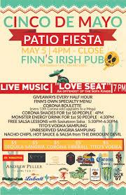 The Sofa Kings by Park Town Hotel Saskatoon Cinco De Mayo At Finn U0027s Irish Pub