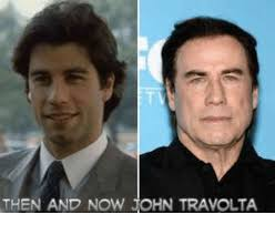 Meme John Travolta - then and now john travolta meme on me me