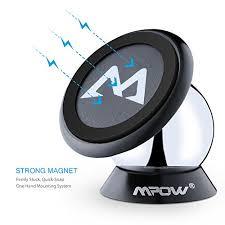 porta iphone auto mpow supporto auto smartphone magnetico 360皸 girevole sticky