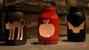 halloween mason jar luminaries youtube