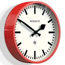 modern kitchen clock newgate cookhouse wall clock red designer kitchen clock
