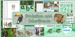 science evolution and inheritance year 6 unit pack