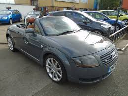 used audi tt 2000 for sale motors co uk