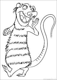 ice age coloring pages ice age 5 coloring pages u2013 kids coloring pages