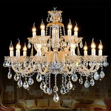 antique candle chandeliers champagne crystal chandelier modern