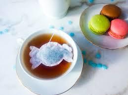 christmas tea party favors box 15 christmas shaped tea bags tea box tea bag tea tea party