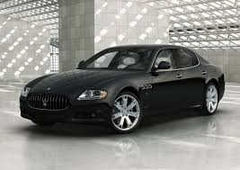 maserati black maserati quattroporte review and photos