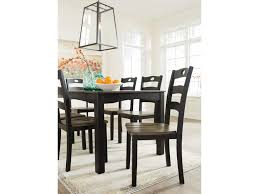 ashley signature design froshburg two tone finish 7 piece dining