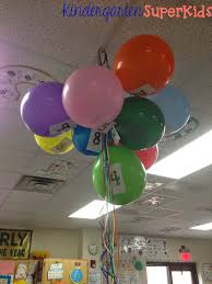 kindergarten superkids 10 day balloon countdown