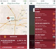krispy kreme s light app tells you when donuts are fresh out