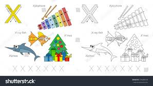 preschool and kindergarten tracing letter x sheetstokids