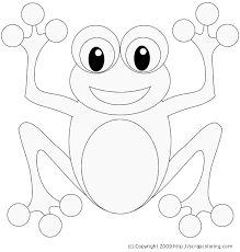 frog coloring