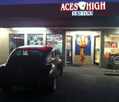 our tattoo shop aces high tattoo myrtle beach tattoo aces
