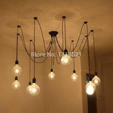 Chandelier Bulb Mordern Nordic Retro Edison Bulb Light Chandelier Vintage Loft