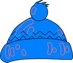 blue santa hat santa hat clipart white and blue clip library