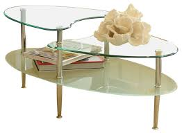 Coffee Table Contemporary by Glass Oval Coffee Table Contemporary Coffee Tables By Walker