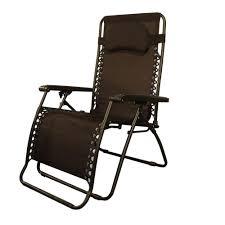 rocking recliner garden chair caravan sports infinity oversize brown zero gravity patio chair