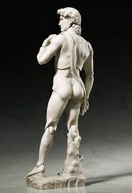 the david by michelangelo and other famous statues are now