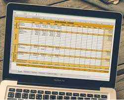 Tax Spreadsheet Finance Spreadsheets For Bloggers Six Figures Under