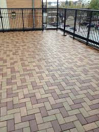 Composite Patio Pavers by Exterior Design Awesome Azek Pavers For Patio Flooring Ideas