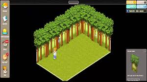 my habbo garden idea youtube