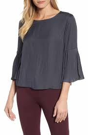gray blouse s blouses tops tees nordstrom