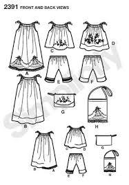 simplicity 2391 child u0027s vintage pillow case fashion pillowcase