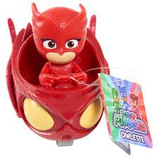 pj masks wheelie vehicle owlette play toys