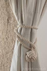 stonk knots design in curtain tie backs