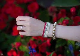red links bracelet images Colours of the woods raindrops of sapphire jpg