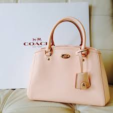 light pink coach wallet 40 off coach bags last chancepale pink crossbody poshmark
