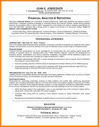 Quantitative Analyst Resume 11 A Good Cv Format Childcare Resume