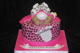 cheetah baby shower cheetah baby shower cake cake by divasdelites cakesdecor