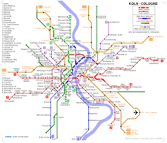 Metro Maps Detailed Metro Map Of Of Cologne Download For Print Out Maps