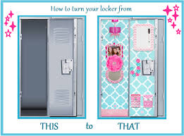 DIY Locker Decorations Cool Ways to Decorate Your Locker by