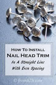 the 25 best nail head ideas on pinterest headboard makeover