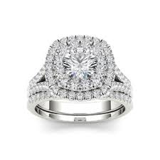 with wedding rings bridal sets wedding ring sets for less overstock