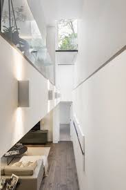 a double height lightwell brings southern light down into the
