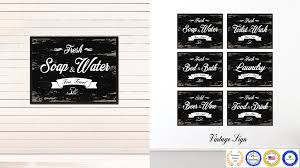 Bathroom Gift Ideas Fresh Soap U0026 Water Vintage Sign Home Decor Wall Art Gift Ideas