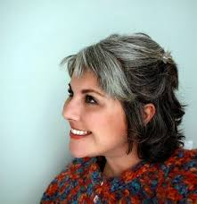 how to bring out gray in hair how bourgeois growing out your gray hair you will feel normal
