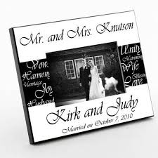 personalized mr and mrs picture frames