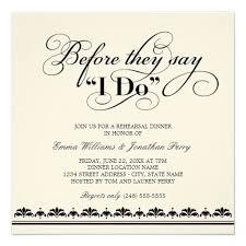 Wedding Ceremony Invitation Wording Rehearsal Dinner Invitation Wording Marialonghi Com