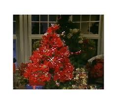 poinsettia tree 36 fiber optic poinsettia tree qvc