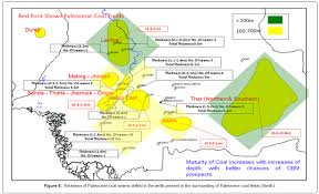 Coal Map Of The World by Coalbed Methane Lower Indus Basin Sindh Pakistan