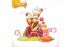 sweet house vector icon illustrations creative market